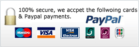 Secure payments at Ctyres.Co.Uk